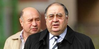 Alisher Usmanov - Red and White holdings