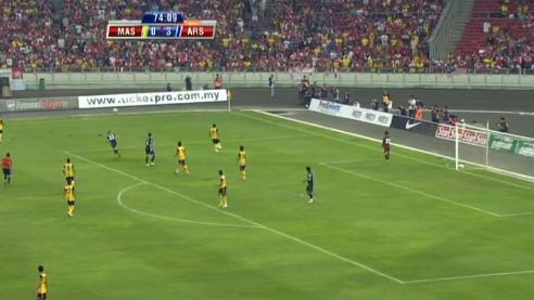 Arsenal v Malaysia