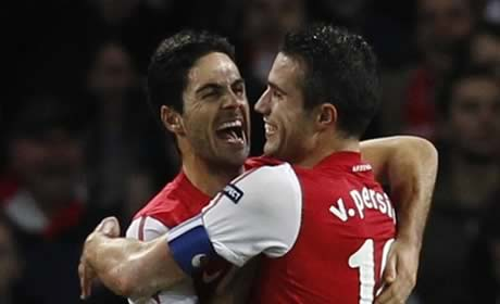 Arteta feeling happy