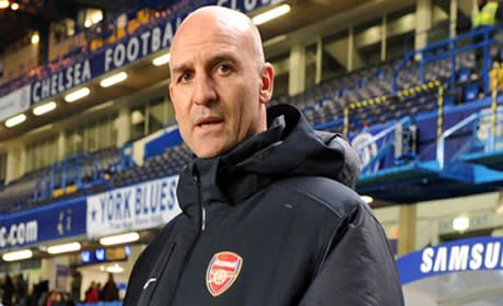 Steve Bould - he's got no hair but we don't care