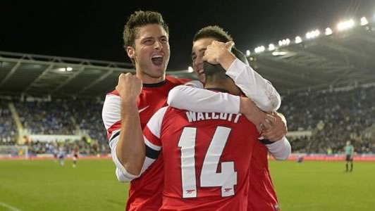 4f9eb6e01 Olivier Giroud says he s looking forward to next season and believes he s  become a better player in his first 12 months at Arsenal.