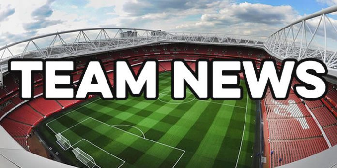 Arsenal team news