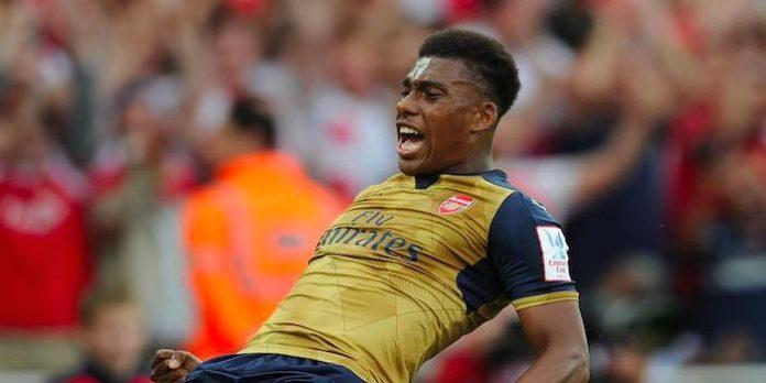 Alex Iwobi Arsenal goal