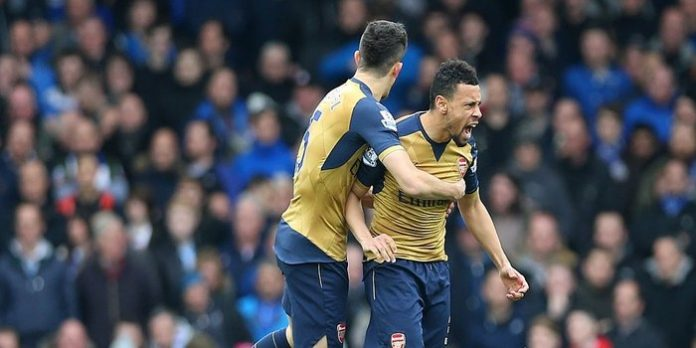 Everton 0-2 Arsenal