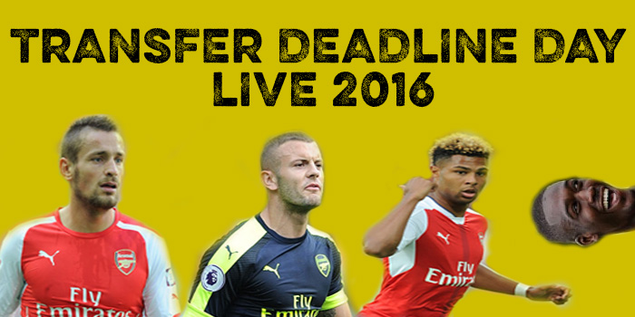 Transfer deadline day live blog 2016