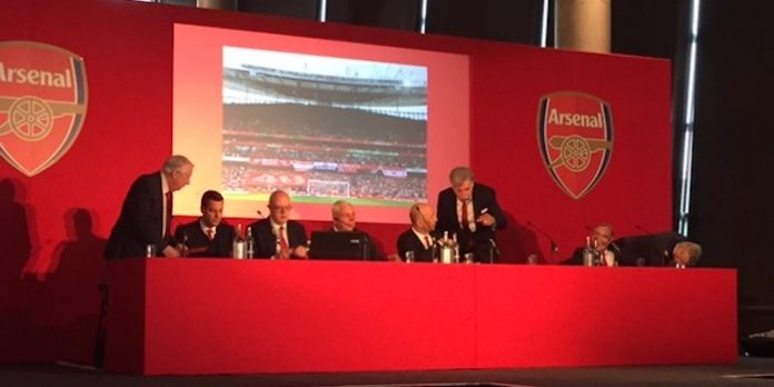 Arsenal AGM 2016 report