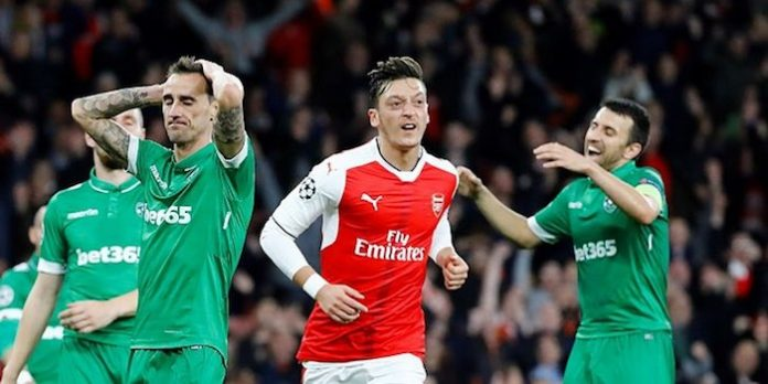 arsenal 6-0 ludogorets