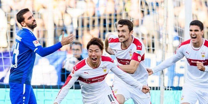 Video: Takuma Asano scores first Stuttgart goal