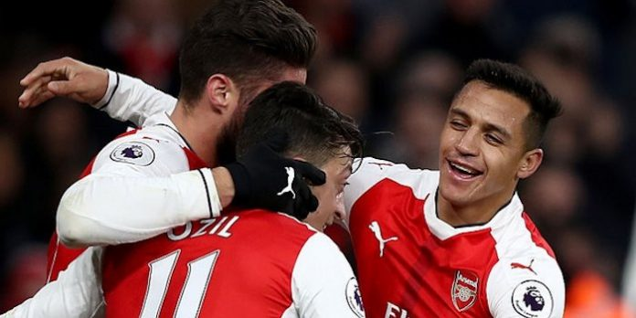 Video: Arsenal 3-1 Bournemouth 'On the whistle'