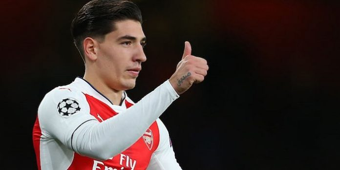 Hector Bellerin extends Arsenal deal
