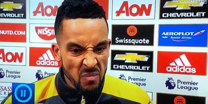 Walcott: we deserved a point