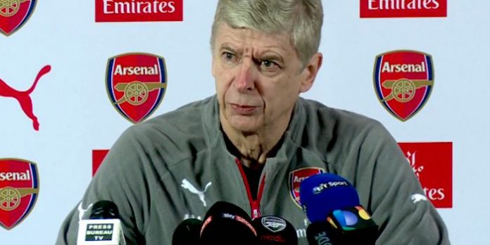 Wenger reveals team news ahead of Everton