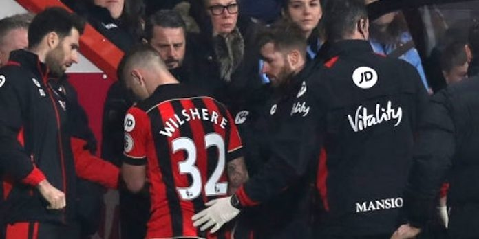 Bournemouth sweating over Wilshere ankle injury