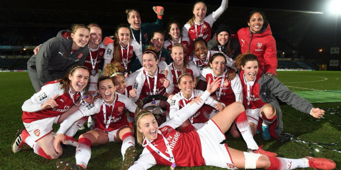 premium selection f12e1 a339c 2018 FA Women's Cup Final Preview: Arsenal v Chelsea Ladies ...