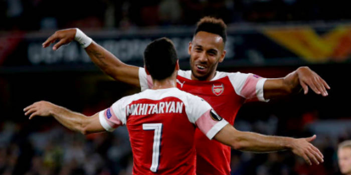Auba: Missing Micki another reason to beat the Blues | Arseblog News - the Arsenal news site