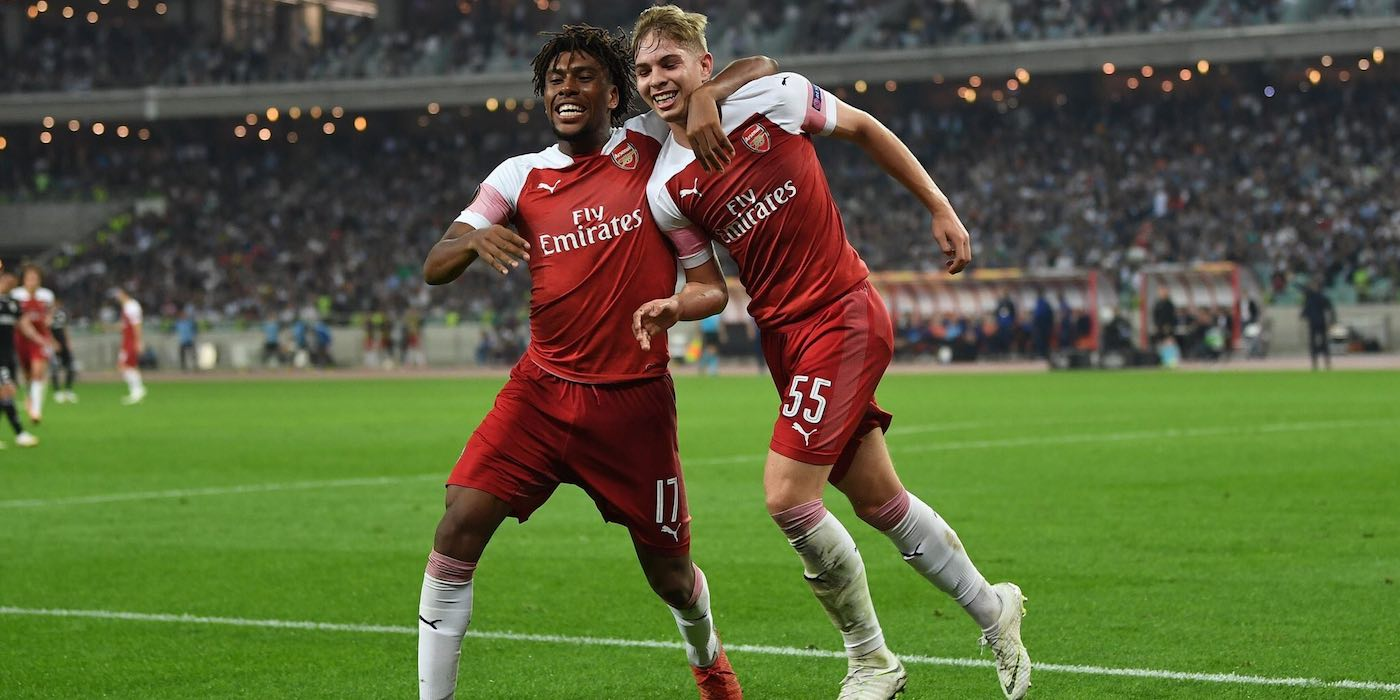 Qarabag 0-3 Arsenal 2018