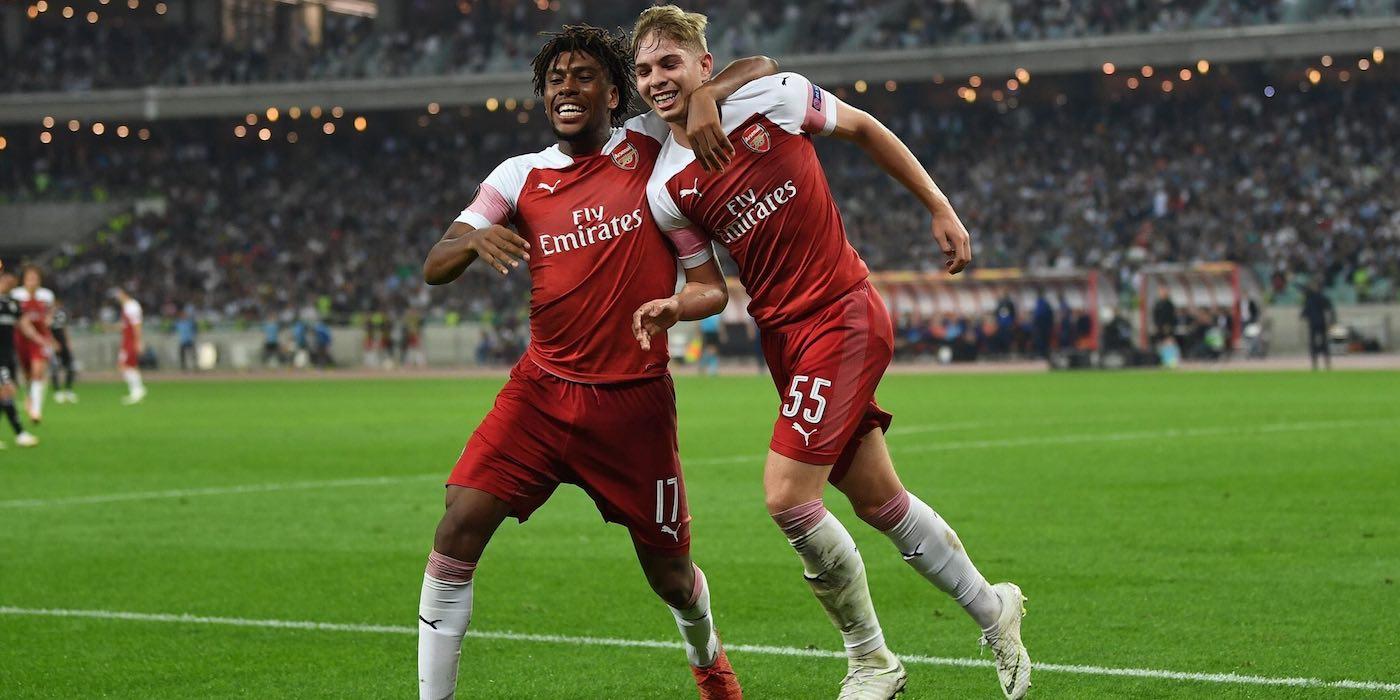 Qarabag 0-3 Arsenal 2018