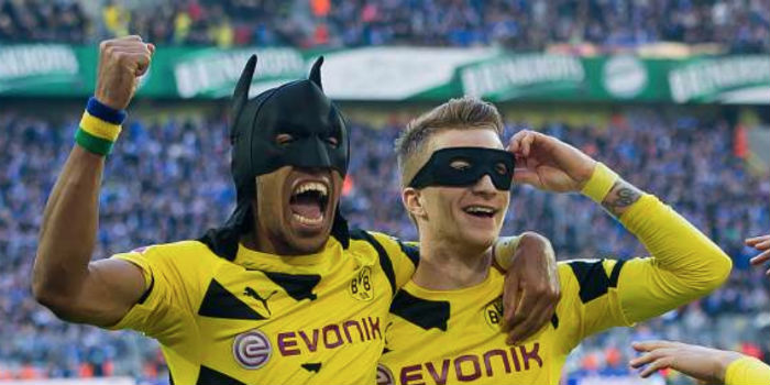 Image result for aubameyang batman