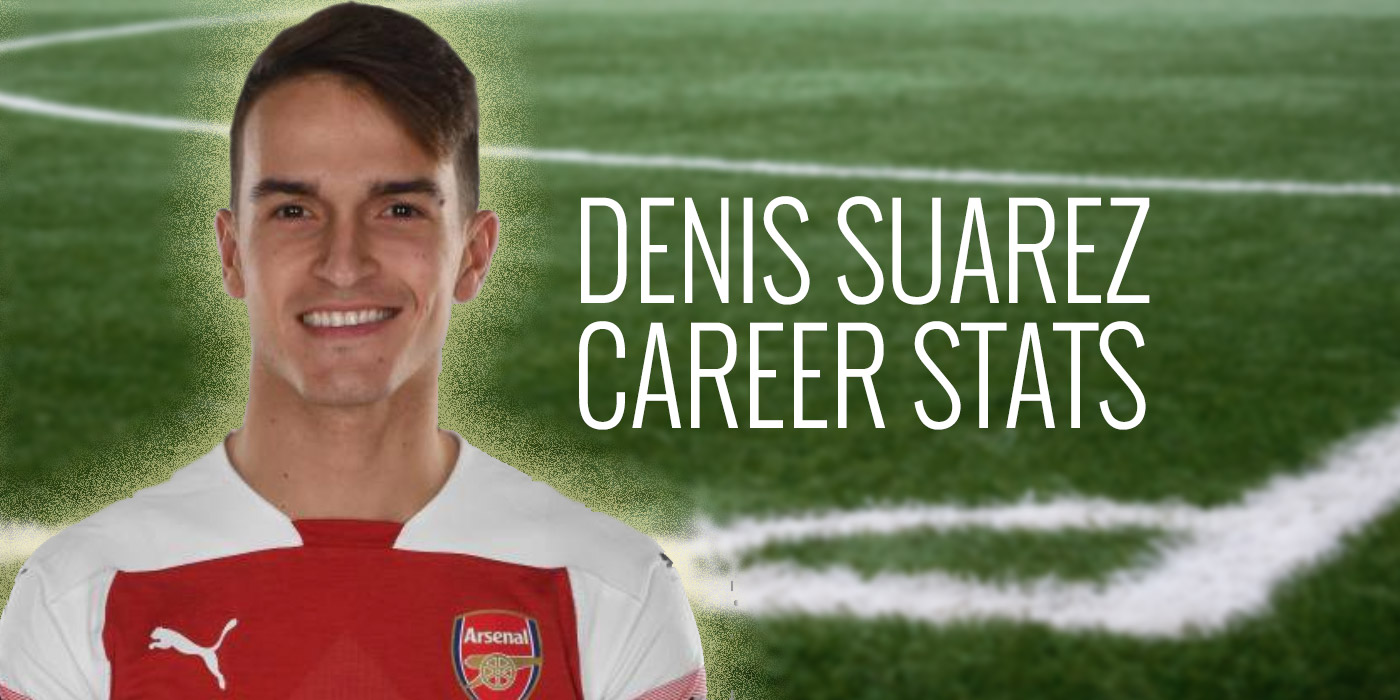 Denis Suarez career stats: 2014 - 2019