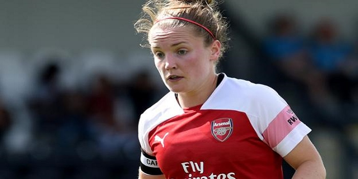10701a934 Arsenal Women put the seal on their championship winning season by beating  Manchester City 1-0 at Meadow Park on Saturday