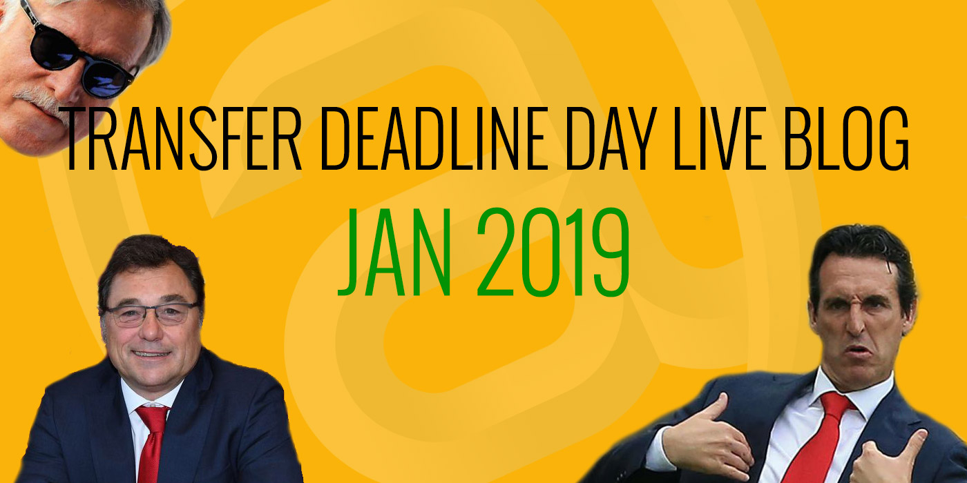 Transfer Deadline Day - live blog