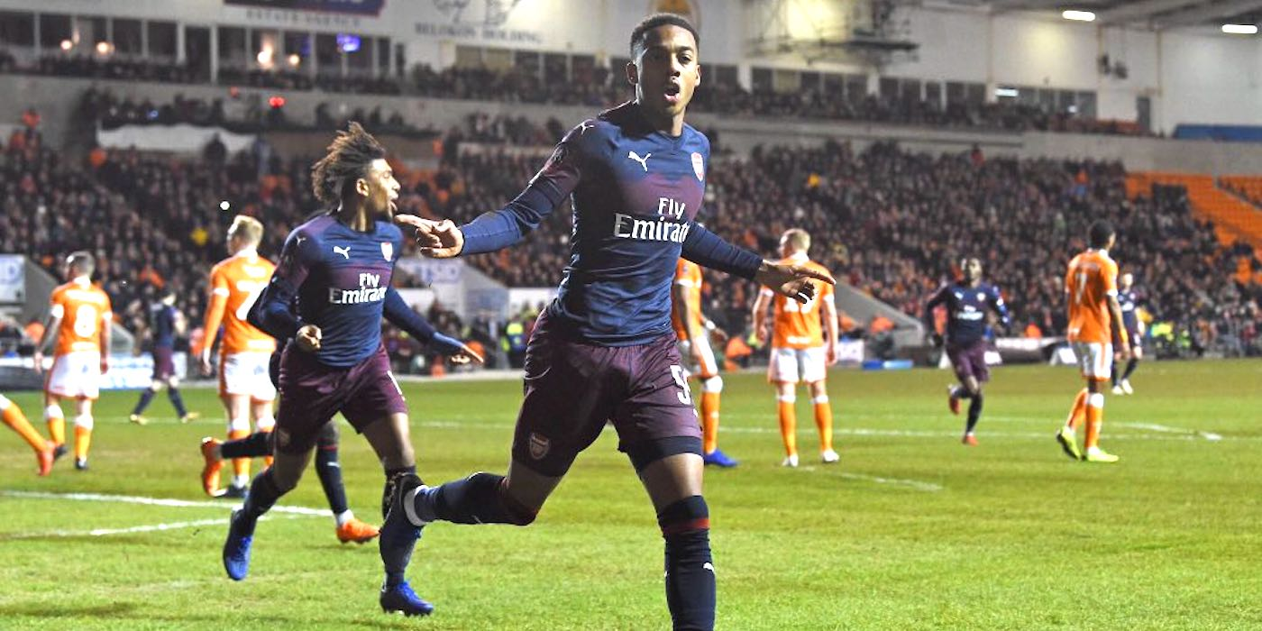 blackpool 0-3 arsenal 2019