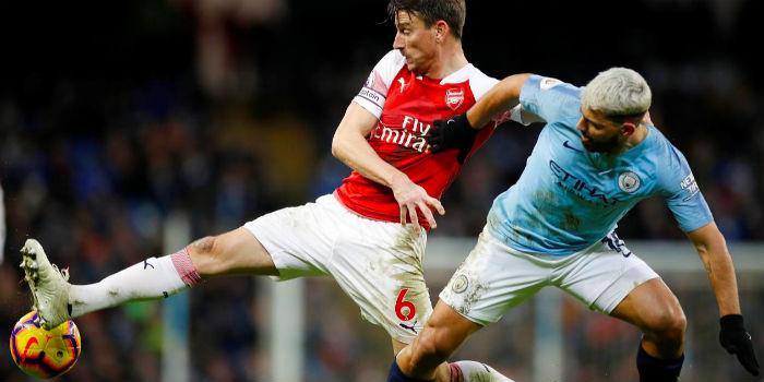 ab1637ca3 Report  Man City 3-1 Arsenal (inc. goals)