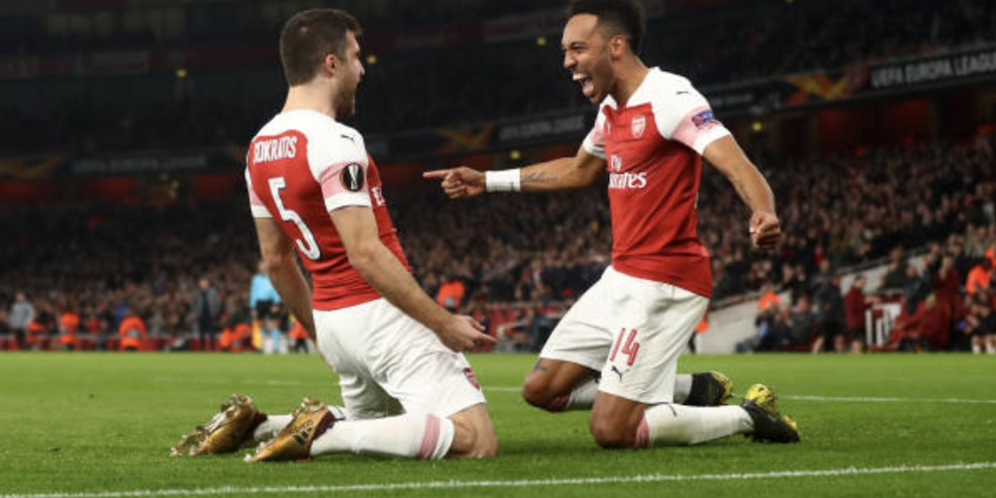 Arsenal 3-0 BATE Borisov 2019
