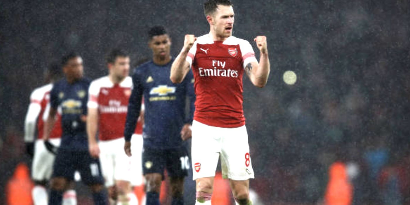 Ramsey: I wanted to do it in my last game against Man Utd