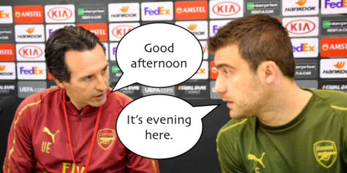 Emery counting on Sokratis experience | Arseblog News - the Arsenal news site