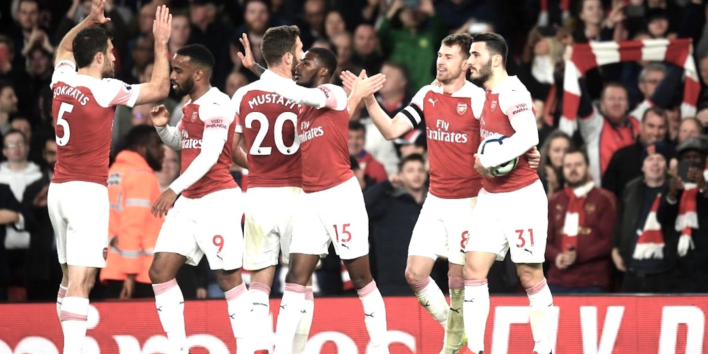 arsenal 2-0 newcastle 2019