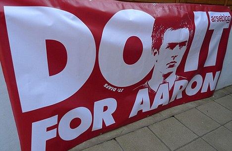 Do it for Aaron Ramsey - Arseblog banner