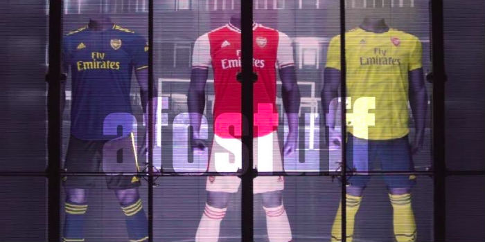 buy popular c3acc 024bd New leaked pics: Arsenal Adidas home, away & third shirts ...