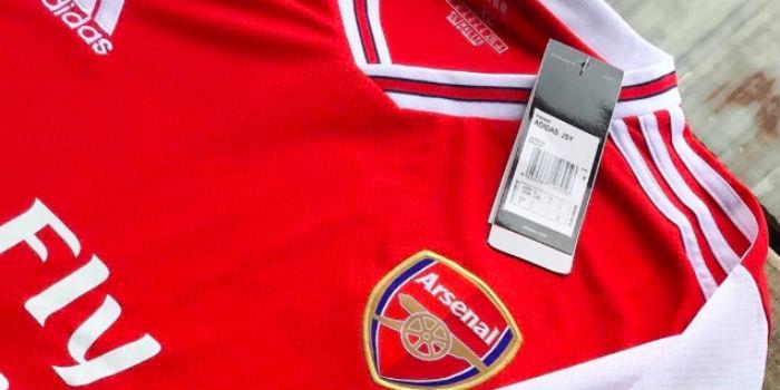 buy popular 0c132 24eef New leaked pics: Arsenal Adidas home, away & third shirts ...