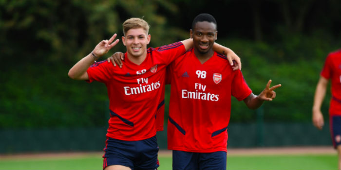Smith Rowe Changes Squad Number As He Gets First Team Nod Arseblog News The Arsenal News Site