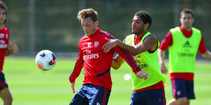 Ozil and Xhaka return for Anfield trip