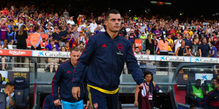 Xhaka to provide column for matchday programme..but not captain's notes