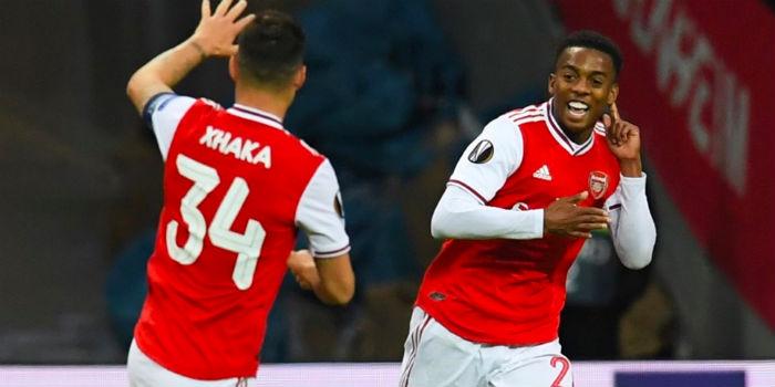 Report: Eintracht Frankfurt 0-3 Arsenal (inc. goals)