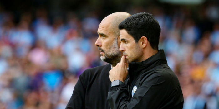 Guardiola eager for Arteta stay, Leicester tie down Rodgers