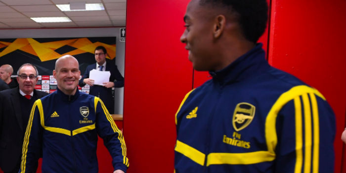 Willock: I'm delighted that Freddie is in charge