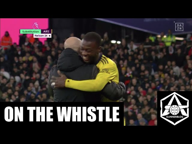 Video: West Ham 1-3 Arsenal – On the whistle