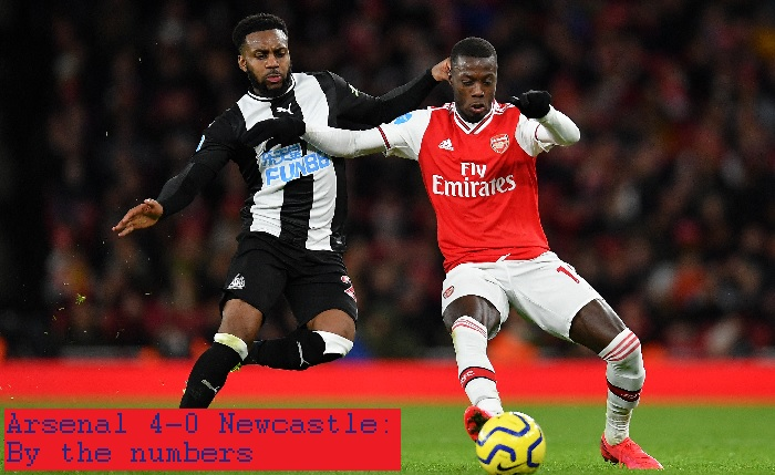 Arsenal 4-0 Newcastle: By the numbers - Arseblog News - the Arsenal news site