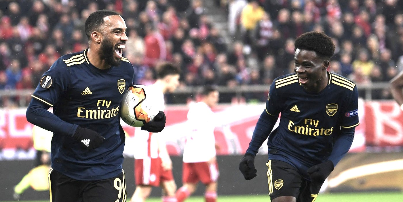 Lacazette says Saka is the best young player in the Premier League