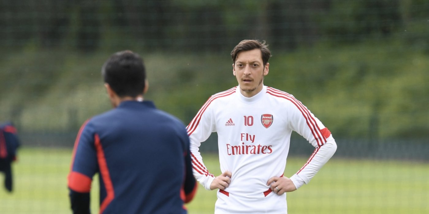 Ozil disappointed by Arsenal exclusion