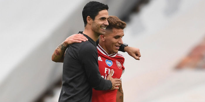 Arteta praises South American duo