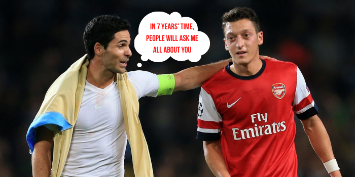 Arteta is quizzed on Ozil…again