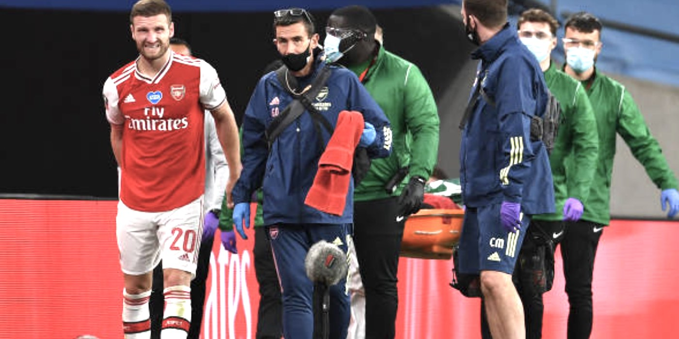 Arteta: I doubt Mustafi will be fit for cup final