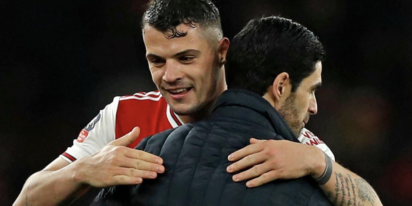 Xhaka lauds Arteta's impact, defends Arsenal's status