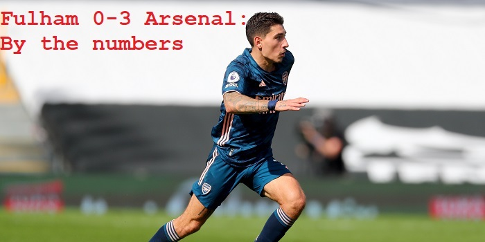 Fulham 0 3 Arsenal By The Numbers Arseblog News The Arsenal News Site