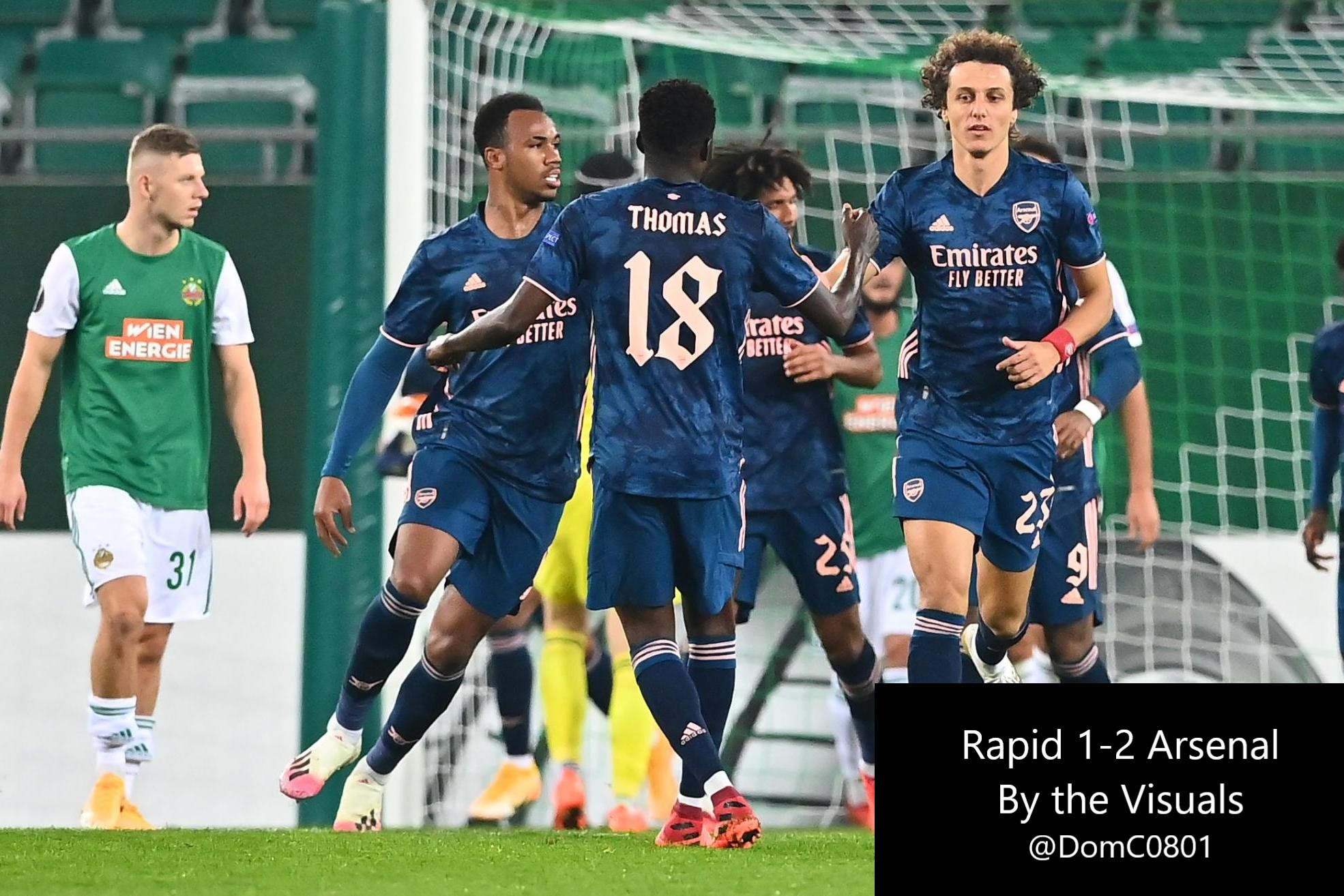 Rapid Vienna 1 2 Arsenal By The Visuals Arseblog News The Arsenal News Site